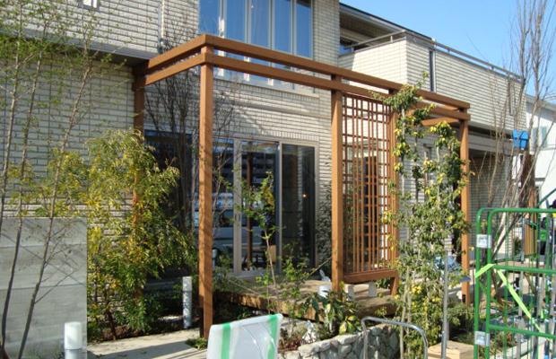 関西某住宅展示場フェンス